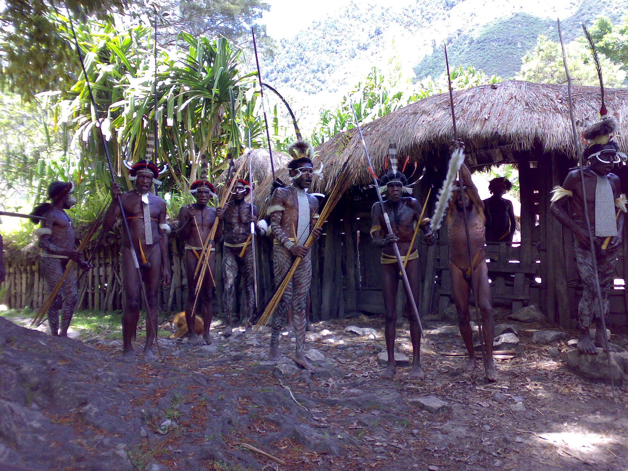 Papua reis – Asmat Fire9