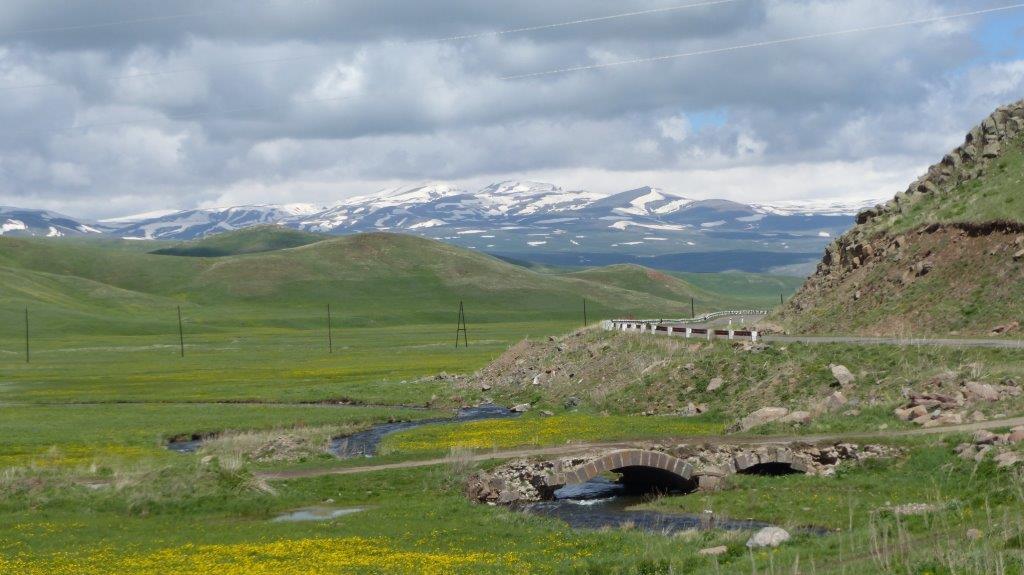 Natuurreis Armenië steppe