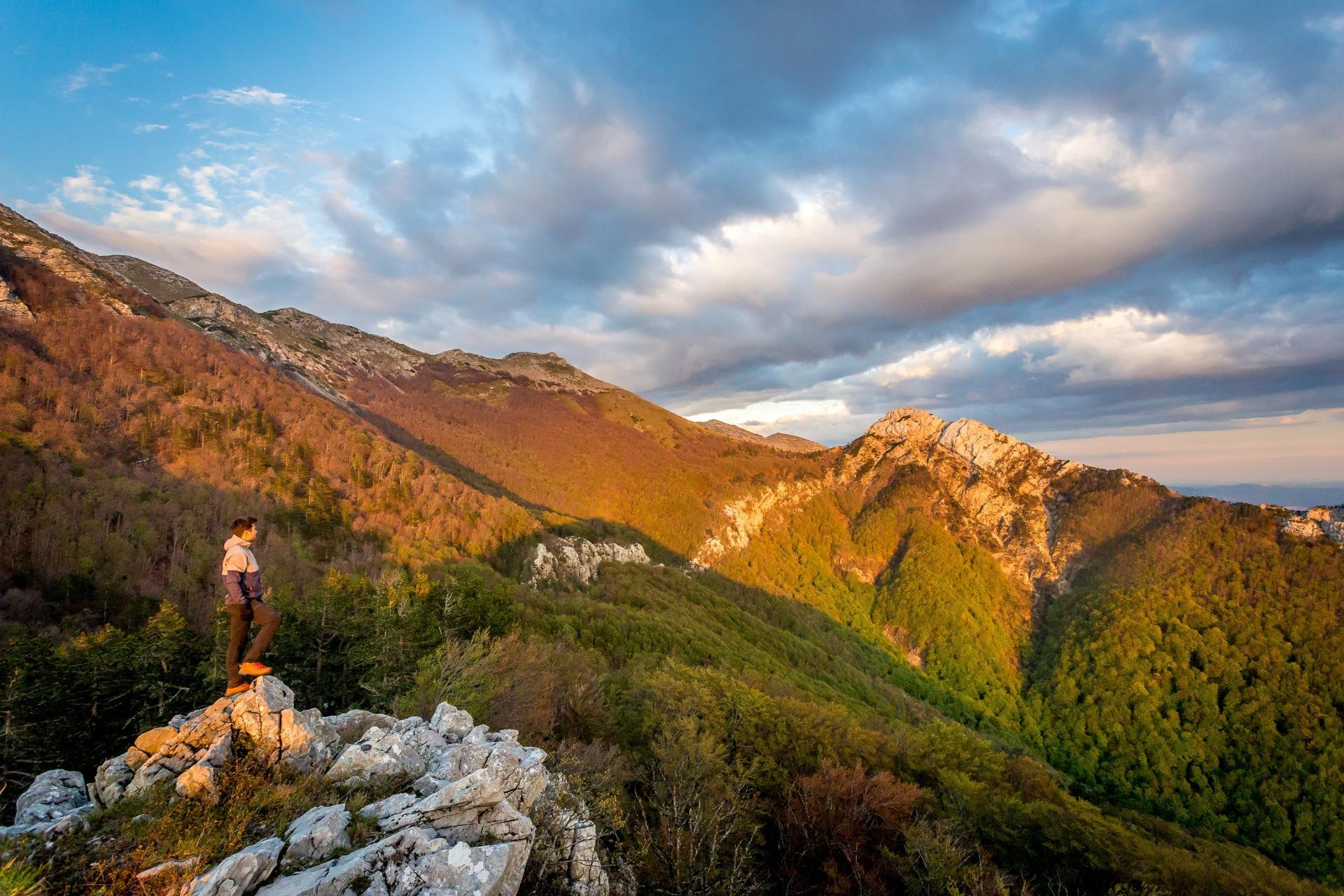 Bergwandeling Kroatië